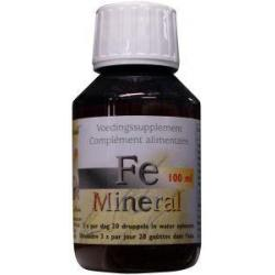 FE IJzer mineral ion
