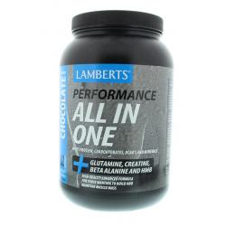 All in one whey proteine chocolade