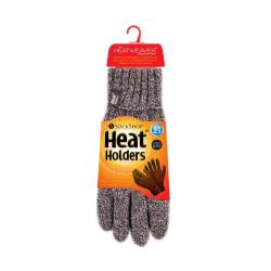 Ladies cable gloves M/L fawn