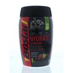 Hydrate & perform cranberry...