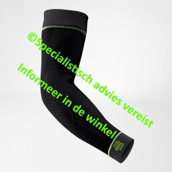 Compression sleeves arm XL extra long zwart